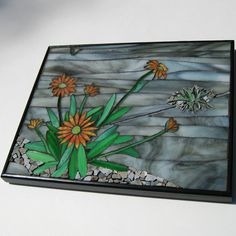 Stained Glass and Stone Mosaic Wall Art  Urban by MosaicSmith, $245.00
