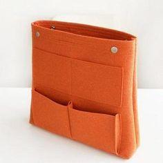 Bag in Bag Felt Casual Travel Multi-pockets Storage Bag Liner Package Cosmetic Bag is fashion-NewChic Cosmetic Storage, Bag Storage, Anti Theft Backpack, Linnet, Crossbody Wallet, Casual Bags, Bag Sale, Leather Shoulder Bag, Shoulder Bags