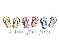 I <3 flip flops