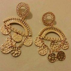 Gold dangle chandelier earring Gold dangle chandelier earring Jewelry Earrings