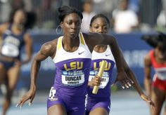 #LSU 's Kimberly Duncan is this year's winner of the Honda Sports Award in Track and Field, making her a finalist for The Honda Cup! Catch it all Live on #ESPNU June 24th at 8pm EST