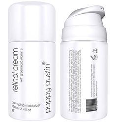 Poppy Austin Retinol Cream with Vitamin E, Green Tea and Shea Butter, Large 3.4 oz >>> Tried it! Love it! Click the image. : Face treatments and masks