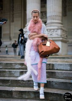 Paris Fashion Week FW 2014 Street Style: Natalie Joos