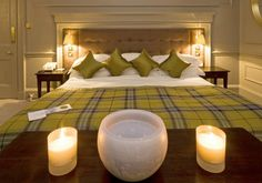 Boutique Hotel | Isle of Eriska interior design by Ward Robinson | Scottish Highlands | Bedroom