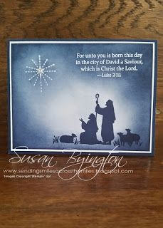 Stampin' Up! Every Blessing stamp set for Christmas
