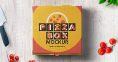 Pizza Box Mockup