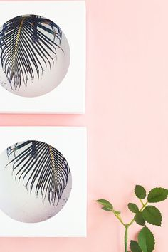 DIY Circle Framed Art - Create your own framed art out of paper! Perfect for your desk or wall - Click through for the tutorial on Maritza Lisa!