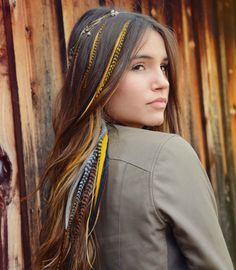 SHINE on - Feather Hair Extension