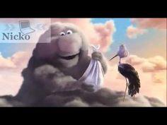 Partly Cloudy (Pixar): este corto además de divertirnos, nos deja en bandeja una reflexión: en la vida todo irá mejor con una buena actitud.