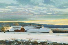 winter sky by eric sloane