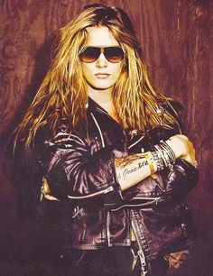Sebastian Bach...he was definitely the fairest of them all of the hair metal singers
