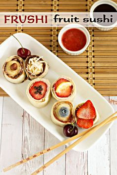 This easy and delightfully different dessert is not only fun to eat but your kids will love to help assemble.