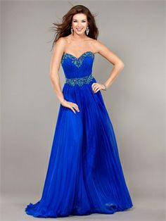 A-line Sweetheart Beaded Neckline and Belt Chiffon Prom Dress PD11258 www.dresseshouse.co.uk $128.0000  ----Long Prom Dresses 2013, Cheap Long Prom Dresses, Long Formal Dresses,2013 Long Prom Dresses,Long Prom Dresses UK