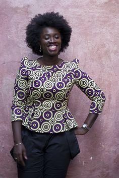 She's so beautiful Latest African Fashion Dresses, African Inspired Fashion, African Print Dresses, Africa Fashion, African Dress, Ankara Fashion, African Prints, Ethnic Fashion, African Blouses