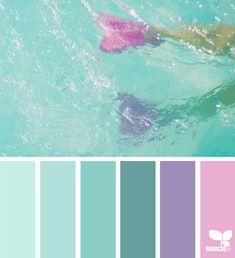 { color swim } - https://www.design-seeds.com/seasons/summer/color-swim-8