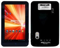 "MioMundo Tablet Android F07. Allwinner A20 DUAL CORE Cortex A7 de 1.0Ghz. HDMI para conectar con TV. RAM 512Mb. ROM 4Gb. Pantalla 7"" Capacitiva Multitáctil. Resolución 444x800. Android 4.2. Color Negro. B00HRZQ8XY - http://www.comprartabletas.es/miomundo-tablet-android-f07-allwinner-a20-dual-core-cortex-a7-de-1-0ghz-hdmi-para-conectar-con-tv-ram-512mb-rom-4gb-pantalla-7-capacitiva-multitactil-resolucion-444x800-android-4-2-color-neg.html"