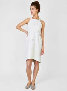 Couverture and The Garbstore - Womens - Rachel Comey - Tippet Dress The School Run, Dresses For Work, Summer Dresses, Rachel Comey, White Dress, My Style, How To Wear, Women, Fashion