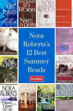 Nora Roberts's Summer Reads