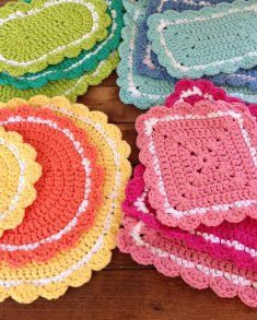 20 Hot Pad Crochet Patterns [PB142] - $8.50 : Maggie Weldon, Free Crochet Patterns
