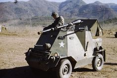 Modified armored Jeep. US 17th Infantry Rgt, Korea 1952 or later. #jeep