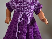 Puppenkleid für 34 cm Puppe