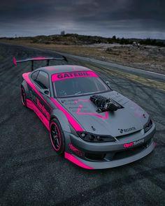 Nissan Silvia V8 Driftcar - #car #racing #tuning #carracing #cartuning #tuningracing