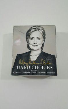 Hillary Clinton HARD CHOICES | Collectibles, Autographs, Political | eBay!