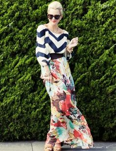 Blair Eadie (Photography by Lydia Hudgens) - Mix. Mode Statements, The Maxx, Maxi Skirt Outfits, Maxi Skirts, Fashion Beauty, Womens Fashion, Mode Inspiration, Color Inspiration, Fashion Inspiration