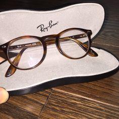 83e8baa4df20 Ray-Ban frames Used Rx glasses. Brownish