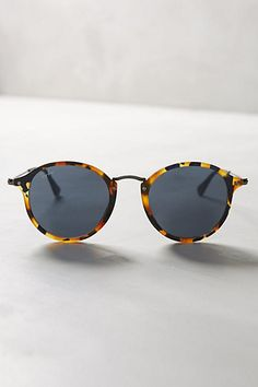 Ray-Ban Round Icon Sunglasses #anthropologie