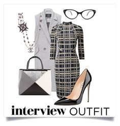 """""""Dress up"""" by almasimaryam on Polyvore featuring SET, Phase Eight, Fendi, Tom Ford, Chanel, jobinterview and 60secondstyle"""