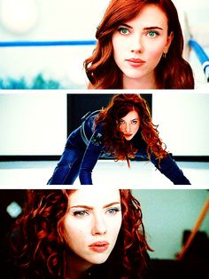 "Black Widow in ""Iron Man 2"" (Scarlett Johansson)"