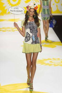 Desigual S/S 15 RTW - NY Fashion Week