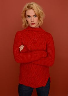 January Jones. Digging the hair.