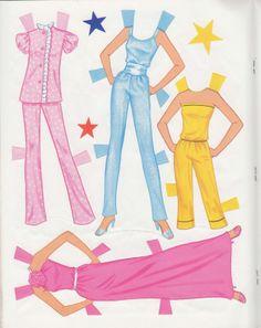Barbie Fantasy Paperdoll