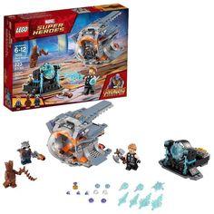 Fast Shipping LEGO Marvel Avengers War Machine Buster #76124 Building Set Kids