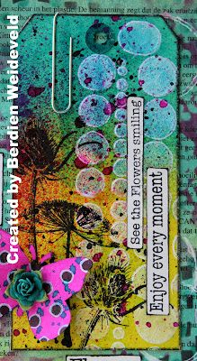from; http://www.scrapfrombemmel.blogspot.nl/, Dylusions; so nice....