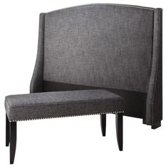 Charcoal Nailbutton Bedroom Collection $275