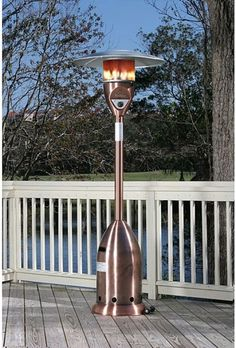 Copper Patio Heater Finish Deluxe Metal Stainless Steel Burner Outdoor  Garden #Doesnotapply #Patio #