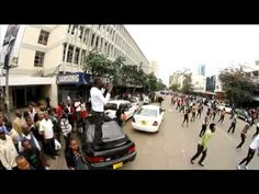 Kenyans rocked the streets with over 400 dancers to show their support for Team Kenya at the London 2012 Olympics which will be shown LIVE on DStv's SuperSpo. Funny Prank Videos, Good Pranks, Funny Pranks, Kenya, Are You Happy, Olympics, Dancing, African, London