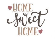 trendy home sweet hom clipart house Wall Stencil Patterns, Sweet Home Collection, Home Design Plans, Trendy Home, At Home Gym, Home Signs, Sign Quotes, Bars For Home, Svg File