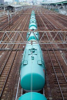 Japan - Freight train, Nagoya