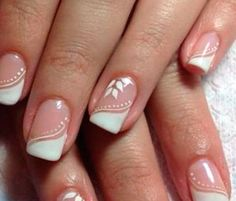 Curso manicure link do curso no site perfil 💅😉 – invalid-throats French Nails, French Manicure Nails, Manicure E Pedicure, Love Nails, Pretty Nails, My Nails, Glam Nails, Nail Deco, Romantic Nails