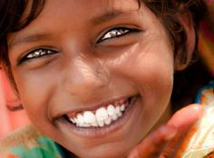 The innocent smile of a child is the most beautiful thing in the world.