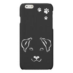 Unique Hand Drawn Dog iPhone 6/6s Slim Phone Case