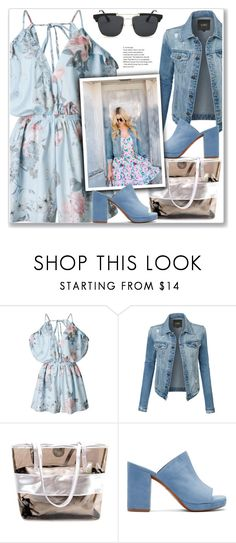 """""""#40"""" by lejla-7 ❤ liked on Polyvore featuring LE3NO and Robert Clergerie"""