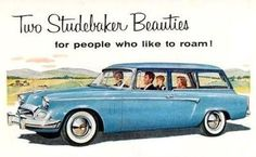 Old car and truck advertisements, Studebaker