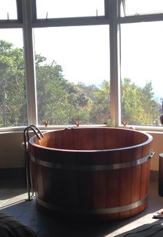 O'reillys spa with wine barrell bath... Need to have!