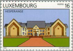 Sello: Hesperange (Luxemburgo) (Tourism) Mi:LU 1440,Yt:LU 1394