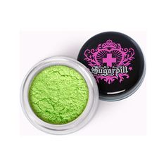 JapanLA - Sugarpill Loose Eyeshadow - Absinthe ❤ liked on Polyvore featuring beauty products, makeup, eye makeup and eyeshadow